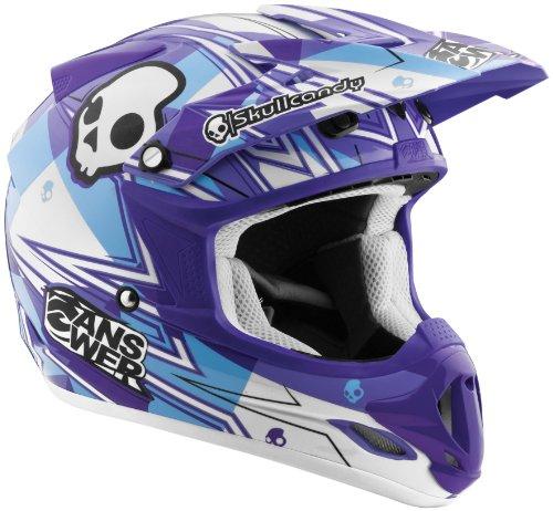 Answer Visor For Comet 2012 Helmet - Purple Skullcandy 454395