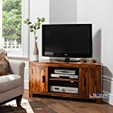 sheesham wood corner Tv Cabinet