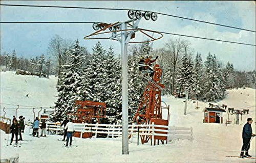 A-Section-of-the-Base-of-Bromley-Mountain-Bromley-Vermont-Original-Vintage-Postcard