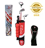 Paragon-Rising-Star-KidsToddler-Golf-Clubs-Set-Ages-3-5-Red