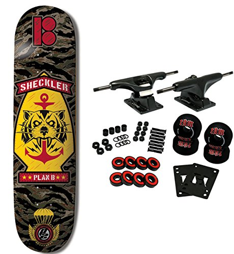 Plan B Skateboard Complete Ryan Sheckler Bdu P2 Construction 8.25