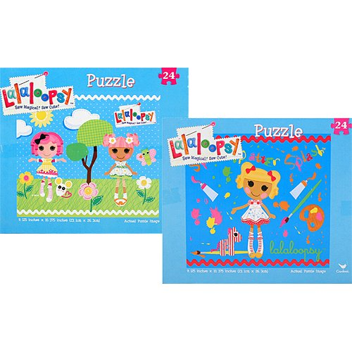 Lalaloopsy 24 Piece Puzzles [Set of 2] - 1