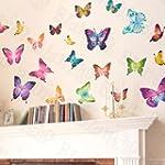 Butterfly World - Wall Decals Sticker...