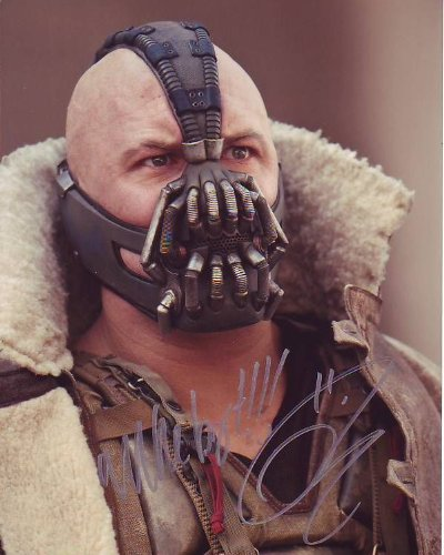 TOM HARDY signed autographed BATMAN DARK KNIGHT RISES BANE photo