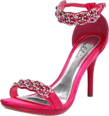 Ellie Shoes Women's 431-Sterling Sandal,Fuschia,5 M US