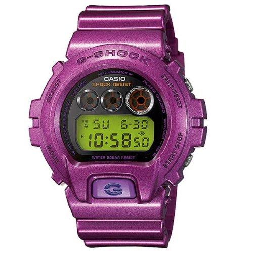 Casio Ladies G Shock Crazy Colour Purple Watch- Dw-6900Nb-4Er