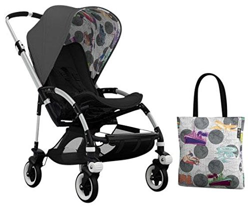 Bugaboo Bee3 Accessory Pack - Andy Warhol Dark Grey/Transport (Special Edition) - 1