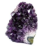 Natural Amethyst Quartz Crystal Cluster from Uruguay
