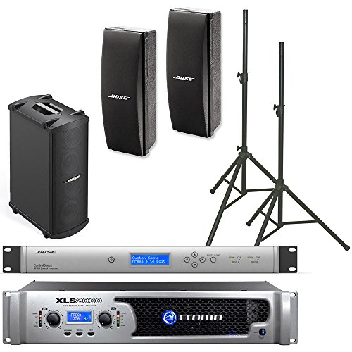 Bose 402 Ii Loudspeakers Bose Pro Audio Portable Sound System Package Crown Xls2000 Amplifier