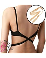 Simply Gorgeous Backless Low Back Bra Strap Converter - Nude
