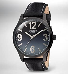 Limited Collection Round Face Analogue Watch