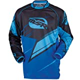 MSR Mens M13 NXT Slash Motocross Jersey Black/Blue Large L