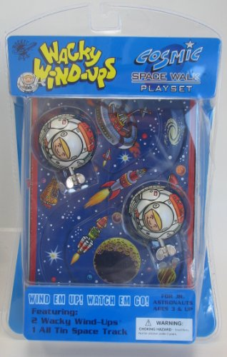 Wacky Wind-Ups Cosmic Space Walk Playset
