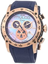 Mulco Unisex MW1-29878-046 Deep Scale Chronograph Swiss Movement Watch
