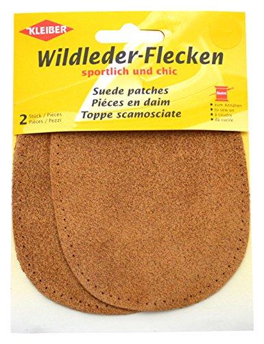 kleiber-12-x-10-cm-ovale-flicken-aus-velours-leder-1-paar-braun