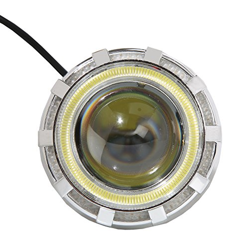 R j von Led Headlight Projector Lens For Bajaj Pulsar 150cc Dt Si