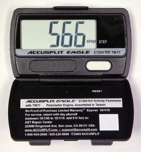 Cheap ACCUSPLIT 2720 Step Pedometer (B008CLG47W)