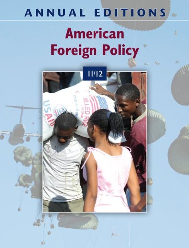 Annual Editions: American Foreign Policy 11/12