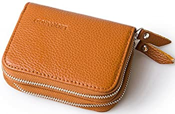 1. Blocking Leather Wallet for Women + Security Bi-fold Wallets with Latest RFID Block Technology