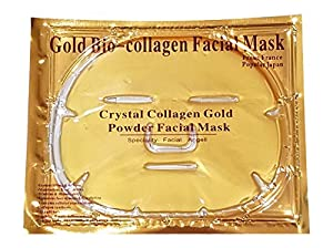 Spa Quality 24k Gold Bio-collagen Facial Mask (Pack of 5) by EBP Medical