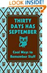 Thirty Days Has September: Cool Ways...