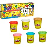 Play Doh Modelling Clay - 6 Pots + 6 Pots Free