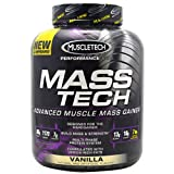 Muscletech Performance Series Mass Tech Weight Gainer, Vanilla, 7lb