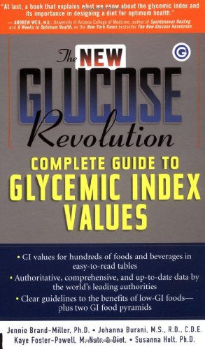 The New Glucose Revolution Complete Guide to Glycemic Index Values PDF