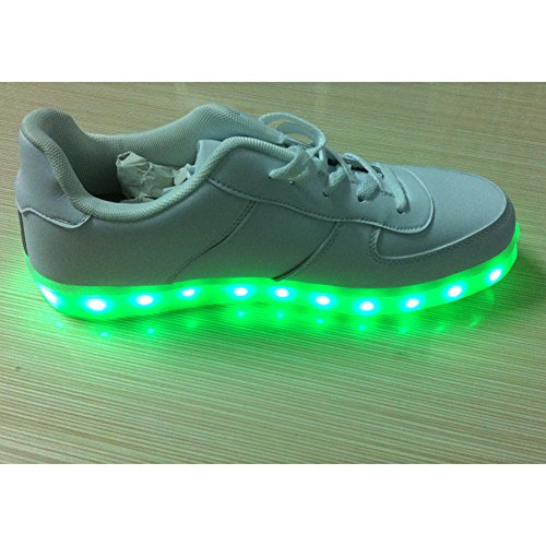 Acever Usb Shoes Women'S Led Shoes Led Sneakers Christmas Cosplay (Us7-Women)