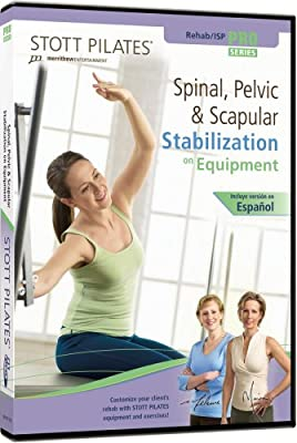 Stott Pilates Spinal, Pelvic and Scapular Stabilization On Equipment DVD