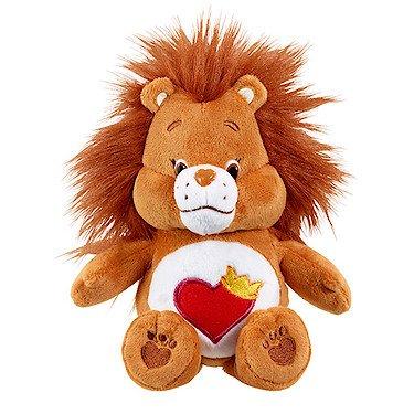 vivid-imaginations-care-bears-cousins-brave-heart-lion-bean-bag-plush-toy-multi-colour