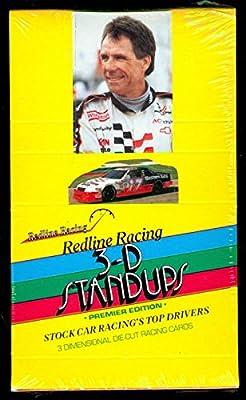 Redline Racing 3-D Standups Nascar 48 Wax Pack Box Set 3D 1992 1991 Stand Ups