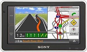 Sony NVU83T 4.8-Inch Widescreen Bluetooth Portable GPS Navigator