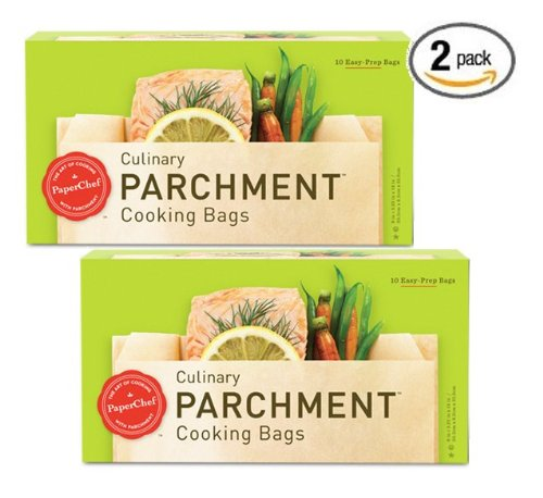 Buy (2 Pack) Parchment Paper Nonstick Cooking Bags, 10-Ct/Box save