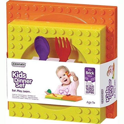 Vajilla LEGO para bebés