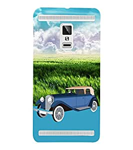Classic Vintage Old Car Zeep Cute Fashion 3D Hard Polycarbonate Designer Back Case Cover for vivo X3S