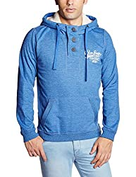 People Men's Synthetic Sweatshirt (8903880777791_P10101358021219_Medium_Blue)
