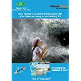 Wonderland Outdoor Cooling Misting Kit With Motor And Timer (Do It Yourself Misting System)