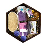 Soulflower Hexagon Bath Set With Lavender