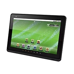"Creative ZiiO 10"" Entertainment Tablet 8GB (Black) with Android 2.2"