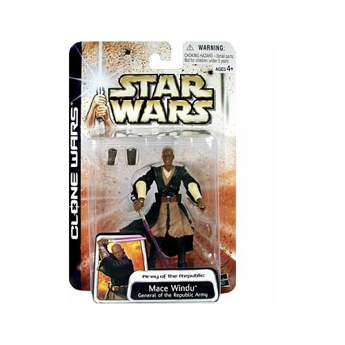 Star Wars: Clone Wars Mace Windu Action Figure