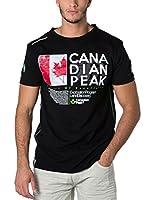 CANADIAN PEAK Camiseta Manga Corta Jiltord (Negro)