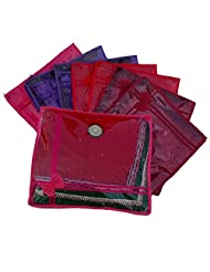 Kuber Industries Non Wooven Saree Cover Set Of 12Pcs