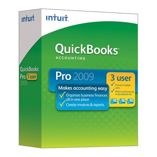 Quickbooks Pro 2009 3 User [Old Version]