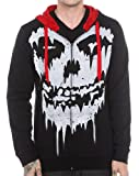 51Mo m whlL. SL160  Misfits Fiend Skull Mens Full Zip Hoodie