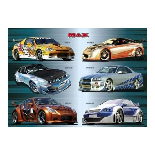 Modified Tuner Cars Posters 24 x 36 inches: Prints: Posters & Prints