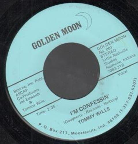 SWINGIN' YAKETY SAX 7 INCH (7 VINYL 45) US GOLDEN MOON by Tommy Wills