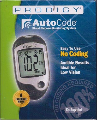 Image of PRODIGY Auto Code Blood Glucose Monitoring System - Ref #51890 (B0093M0OAC)