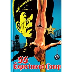 SS Experiment Love Camp [VHS Retro Style DVD] 1976