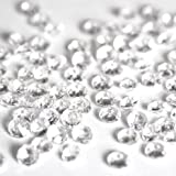 2x 5000 Clear Wedding Table Scatter Crystals - for 6-8 Tables